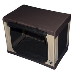 "Pet Gear 21"" Travel-Lite Portable Soft Pet Crate"