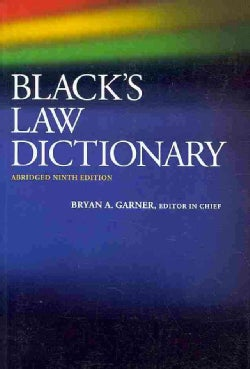 Black's Law Dictionary (Paperback)