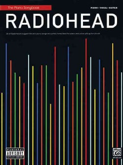 Radiohead: The Piano Songbook: Piano/ Vocal/ Guitar (Paperback)