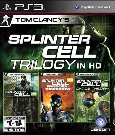 PS3 - Splinter Cell Compilation - By Ubisoft