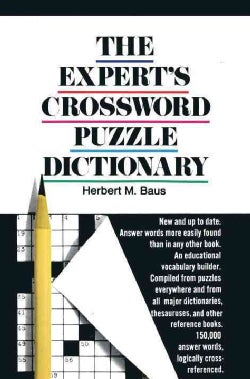 The Expert's Crossword Puzzle Dictionary (Paperback)