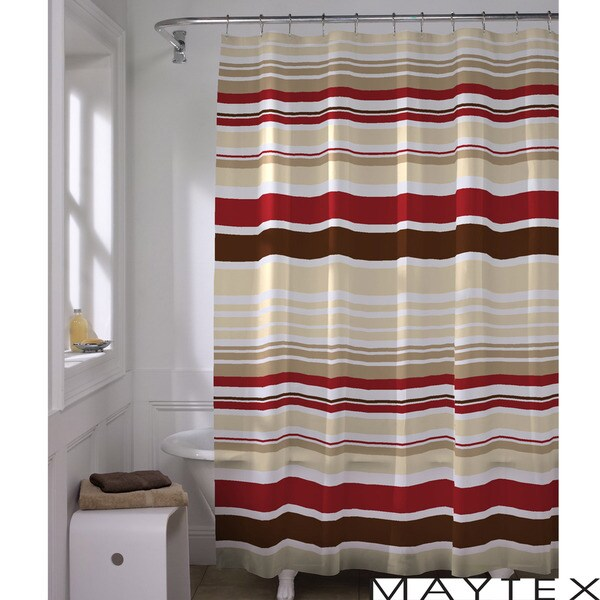Horizontal Stripe Shower Curtain Vertical Stripe Shower Curtain
