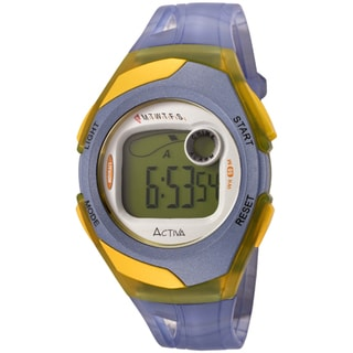 Activa Women's Blue Digital Multi-Function Watch