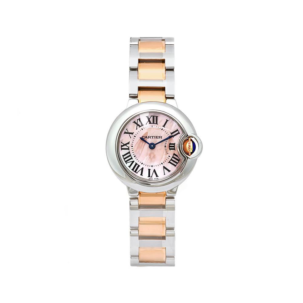 Cartier Women's Ballon Bleu Mother of Pearl Dial Watch