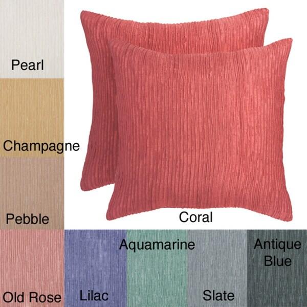 Stephano 18-Inch Square Decorative Pillows (Set of 2)