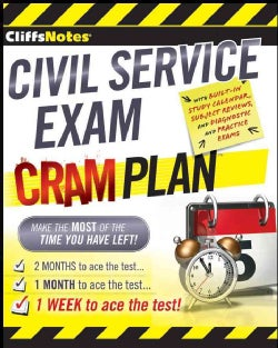 CliffsNotes Civil Service Exam Cram Plan (Paperback)