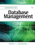 Concepts of Database Management (Paperback)
