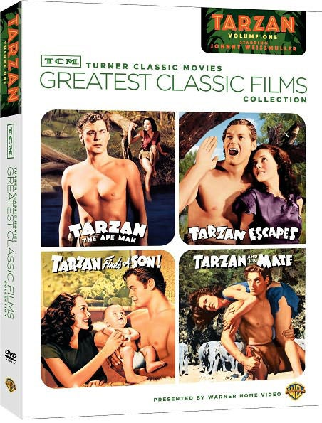 TCM Greatest Classic Films: Johnny Weissmuller As Tarzan, Volume 1 (DVD)