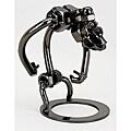Gorilla Metal Figurine