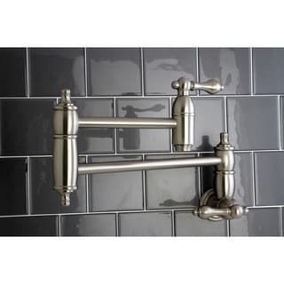 Restoration Satin Nickel Pot-filler Kitchen Faucet