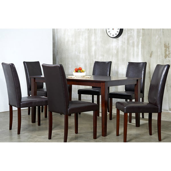 Shino Light Cappuccino 7 piece Dining Furniture Set
