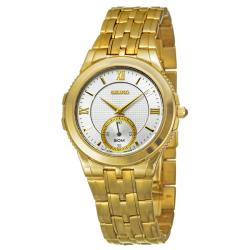 Seiko Men's 'Le Grand Sport' Goldplated Stainless Steel Quartz Watch