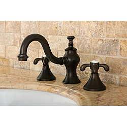 Lava Widespread Oil-Rubbed-Bronze Brass Bathroom Faucet