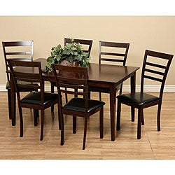 Crystal 7-piece Dining Furniture Set