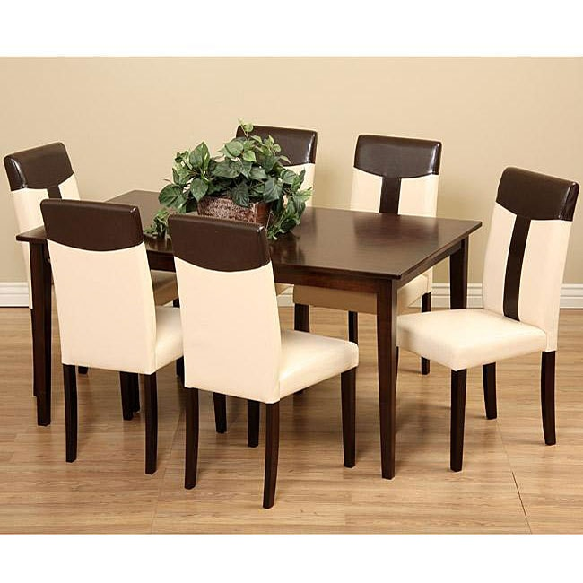 Tiffany 7 piece Dining Room Set 13376557 Overstockcom  : Tiffany 7 piece Dining Room Set L12067628 from www.overstock.com size 650 x 650 jpeg 50kB