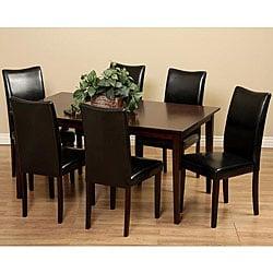 Shino Black 7-piece Dining Room Furniture Set
