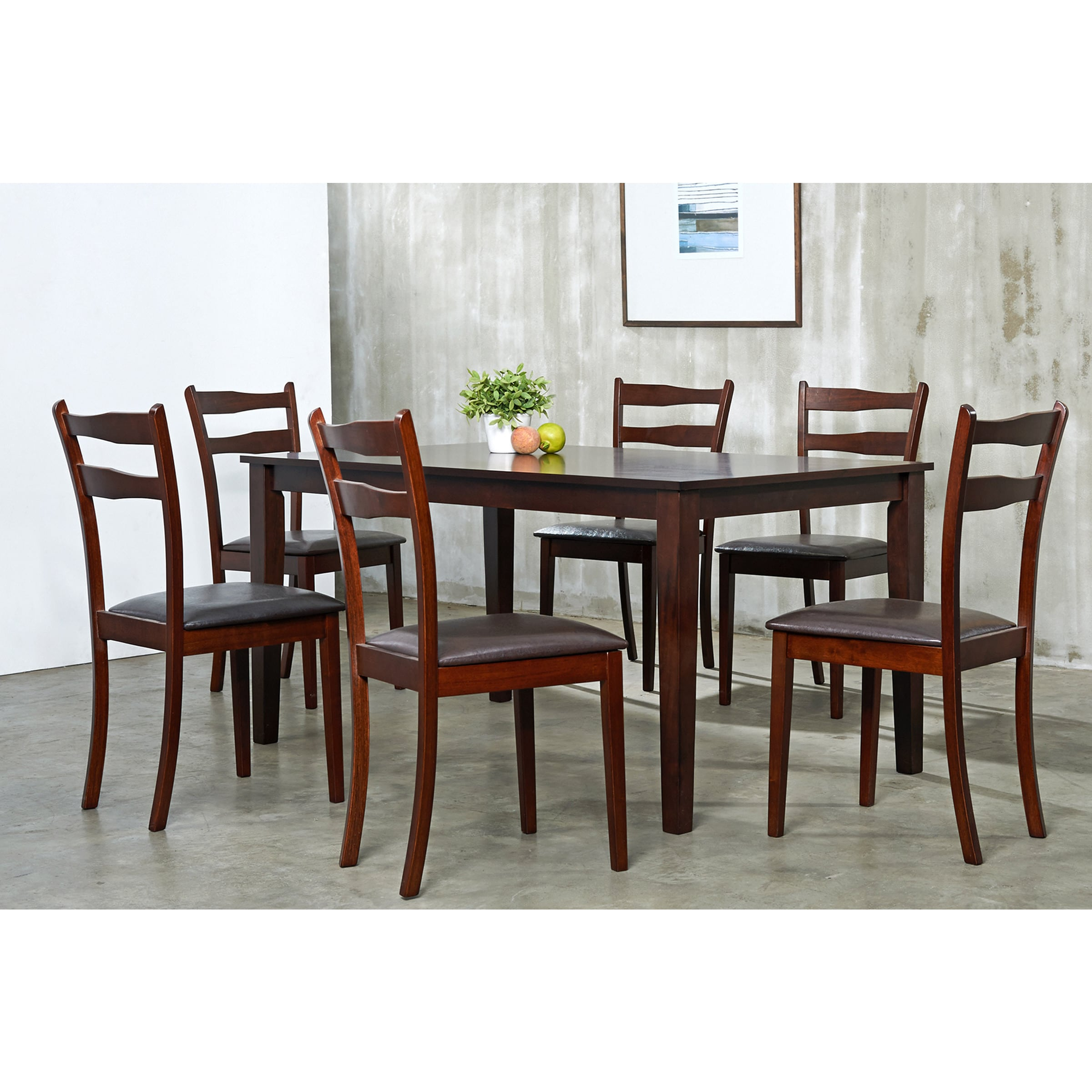 piece dining room furniture set overstock shopping big discounts