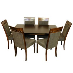 Warehouse of Tiffany 7-piece Olive Dining Room Set