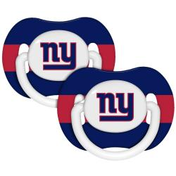 New York Giants Pacifiers (Pack of 2)