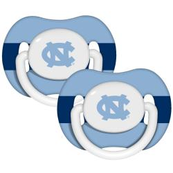 North Carolina Tar Heels Pacifiers (Pack of 2)