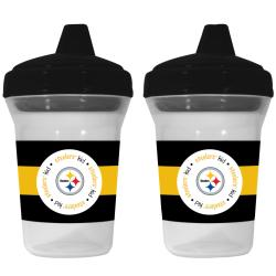 Pittsburgh Steelers Sippy Cups (Pack of 2)