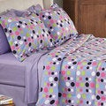 Dot 6-piece Twin-size Bed in a Bag with Sheet Set