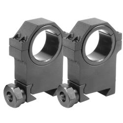 Barska 30mm X-High HD Weaver Style w/ 1-inch Insert Rings