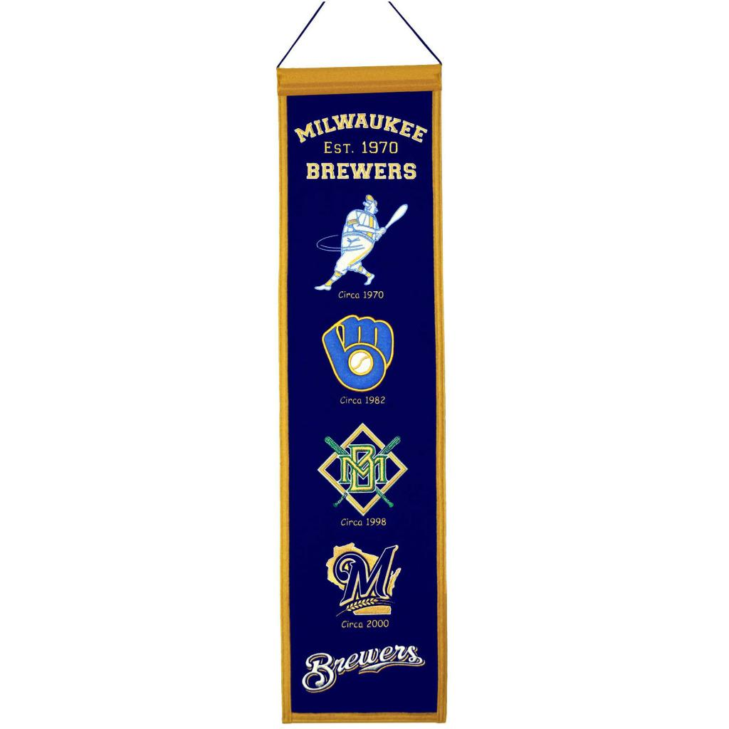 Milwaukee Brewers Wool Heritage Banner