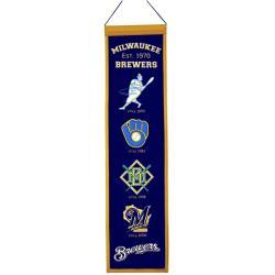 Milwaukee Brewers Wool Heritage Banner