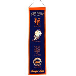 New York Mets Wool Heritage Banner
