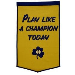 Notre Dame Fighting Irish NCAA PLACT Banner