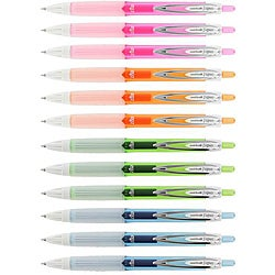 Uni Ball Signo 207 Retractable Assorted Gel Ink Pens (Pack of 12)