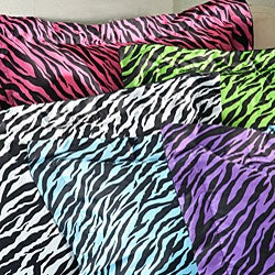 Zebra 3-piece King-size Mini Comforter Set