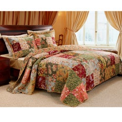 Antique Chic Full/ Queen-size 3-piece Quilt Set