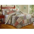 Blooming Prairie 5-piece Full/ Queen-size Cotton Quilt Set