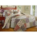 Greenland Home Fashions Blooming Prairie Full-size 3-piece Bedspread Set