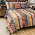 Greenland Home Fashions Katy Full/ Queen-size 3-Piece Quilt Set