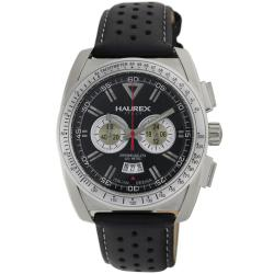 Haurex Italy Men's MPH+ Gloves Black Dial Watch