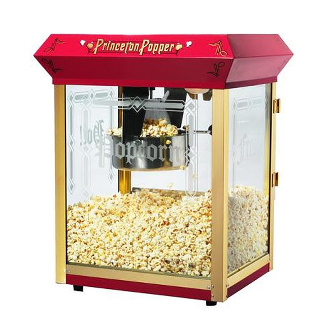 Princeton 6045 Red 8-oz Bar Style Antique Popcorn Machine
