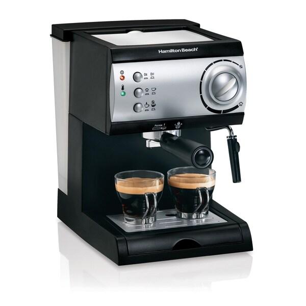 Hamilton Beach 40715 Black Espresso Maker