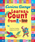 Curious George Learns to Count from 1 to 100 (Paperback)