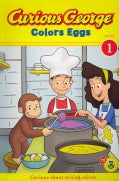 Curious George Colors Eggs (Paperback)