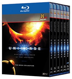 The Universe: The Complete Series Megaset (Blu-ray Disc)