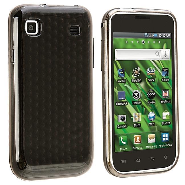 Clear Smoke Mid Diamond TPU Case for Samsung i9000/ T959 Vibrant