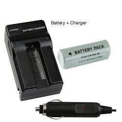 Compatible Li-ion Battery/ Compact Battery Charger for Canon NB-9L