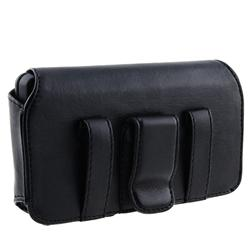 Black Leather Case for Samsung Epic 4G/ Galaxy S