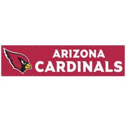 Arizona Cardinals 8-foot Nylon Banner