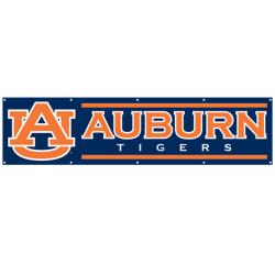 Auburn Tigers 8-foot Nylon Banner