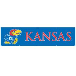 Kansas Jayhawks 8-foot Nylon Banner
