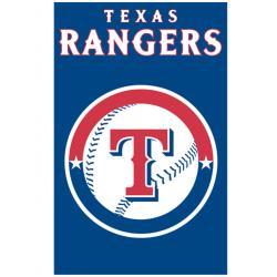 Texas Rangers Nylon Banner Flag